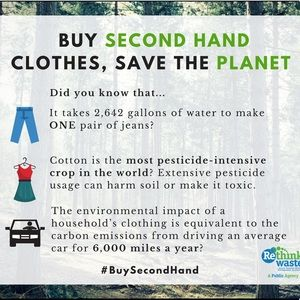 WHY BUY SECONDHAND CLOTHES?